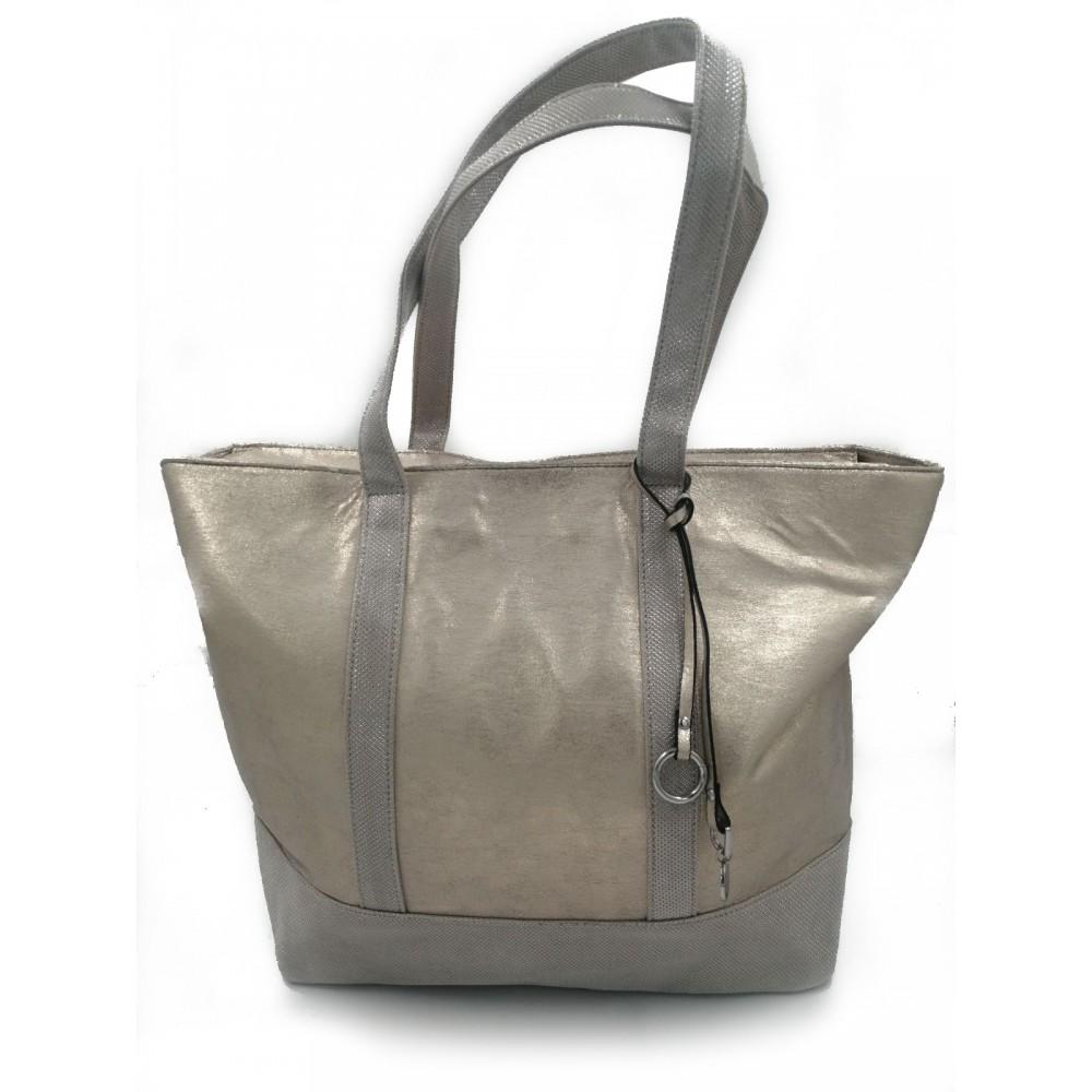 Reserved women's bag, light gold