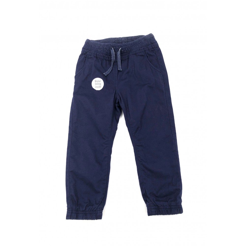 Cool Club sports trousers for kids, navy blue color