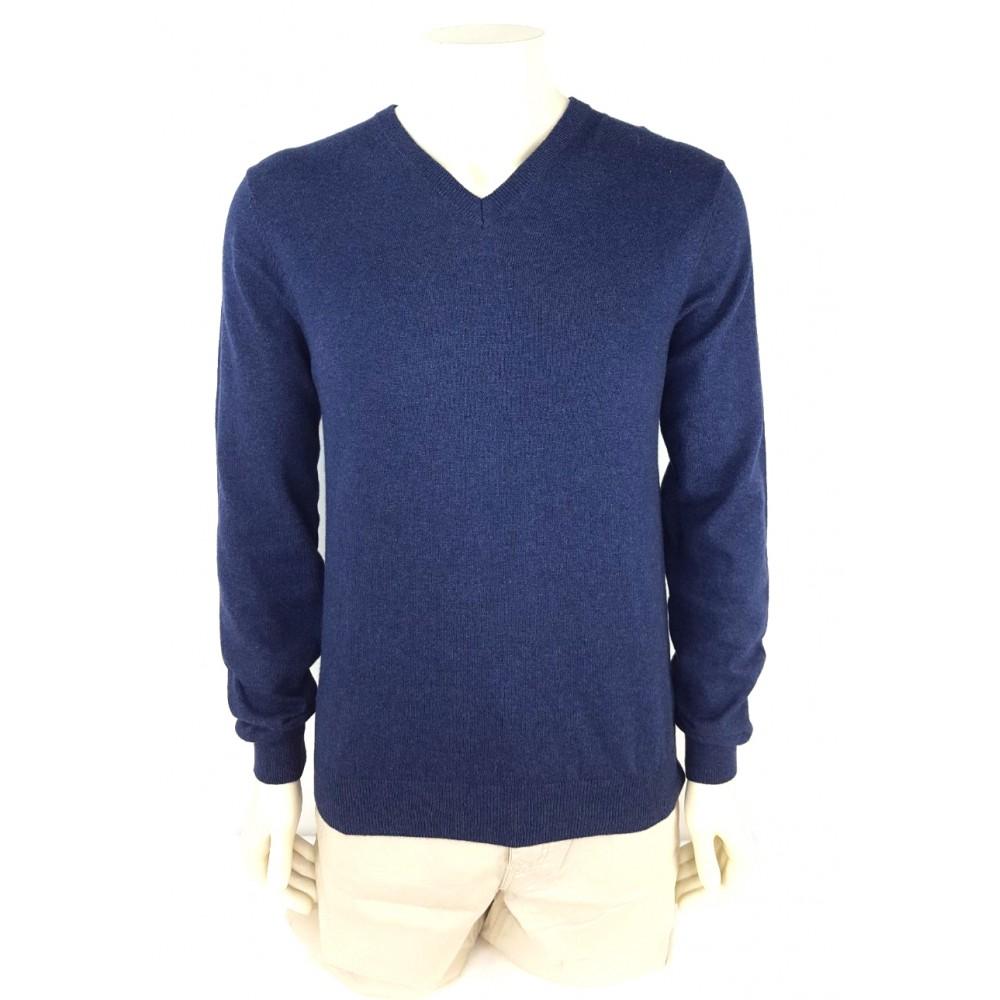 Doppelganger men's sweater blue color