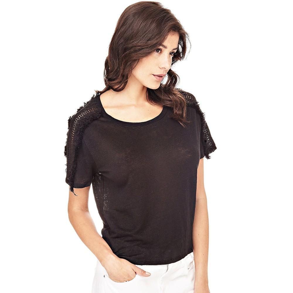 Guess women's linen t-shirt