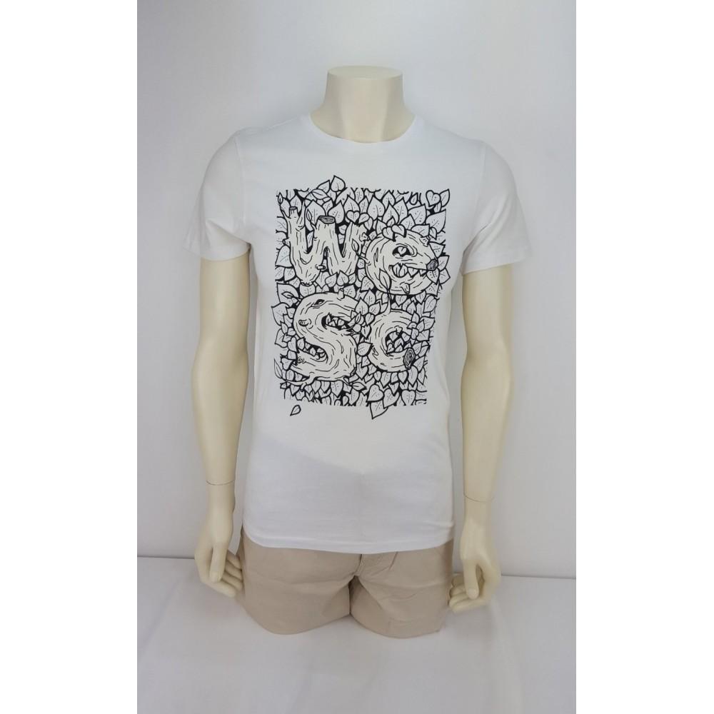 WEZC men slim t-shirt