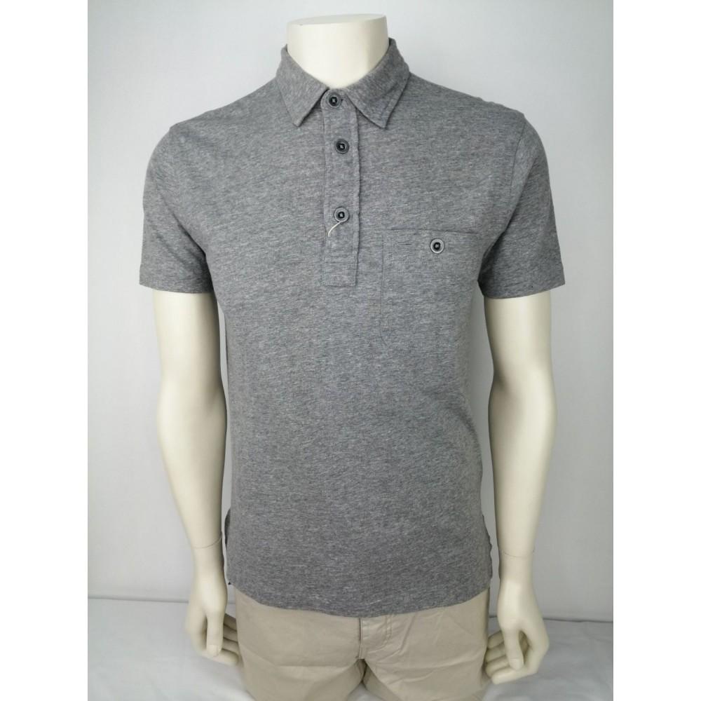 Ralph Lauren men's polo stile t-shirt, grey color