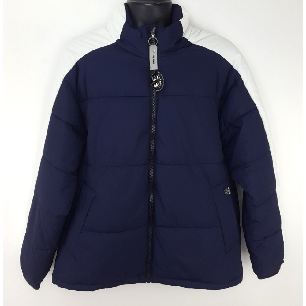 Reserved men's jacket navy blue color