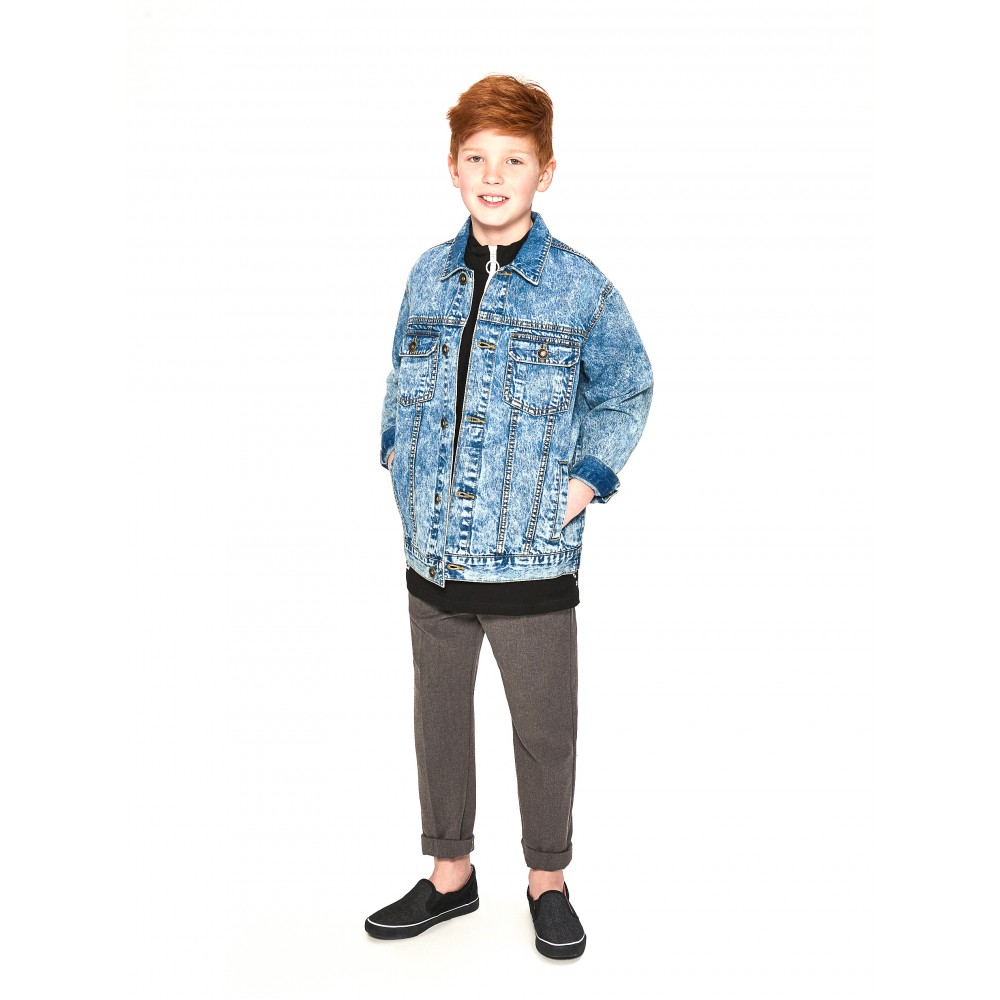 Reserved kids denim jacket, blue color SR296-55J