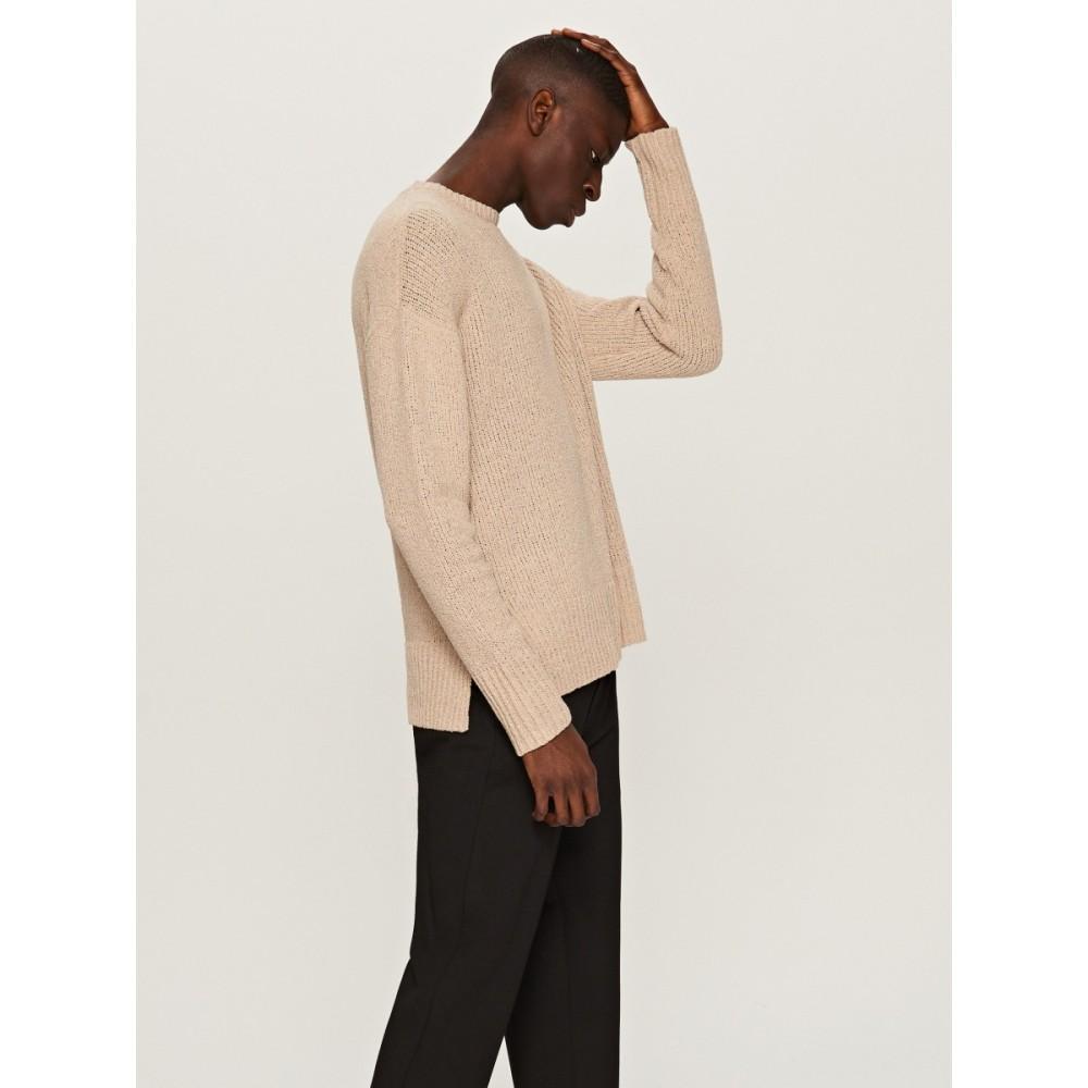 Reserved men's sweater light brown color