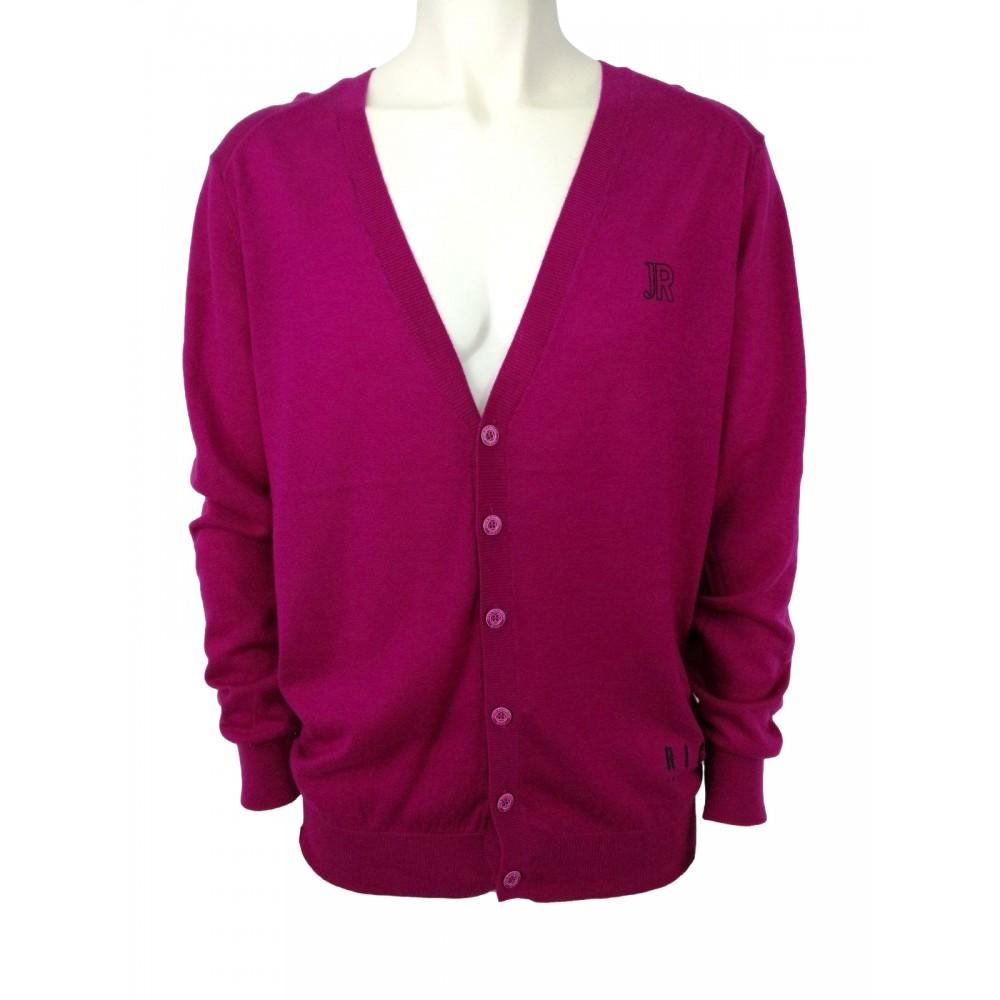 Rich men's sweater, dark pink color