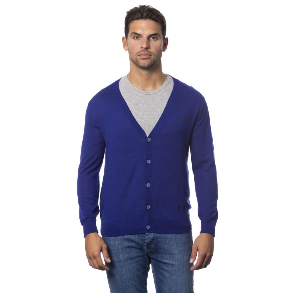 Rich men's sweater, royal blue color