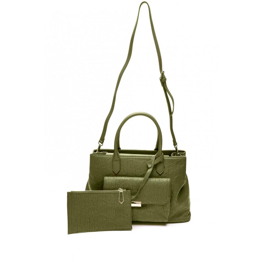 Silvian Heach Bag RCA19008BO military green color