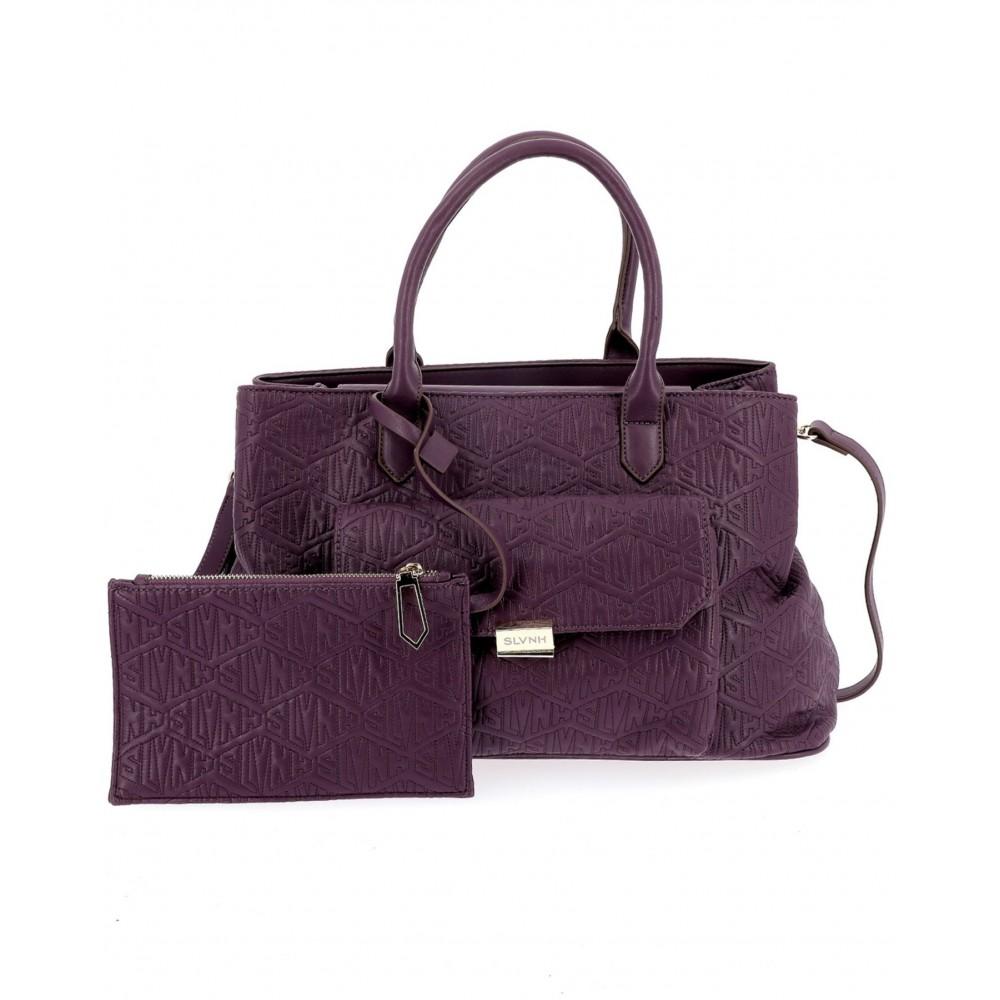 Silvian Heach Bag RCA19008BO purple color