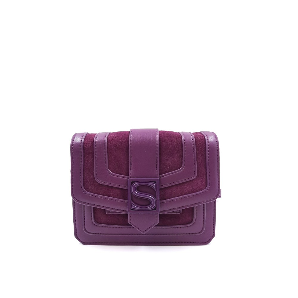 Silvian Heach bag RCA19019BO violet crushed color