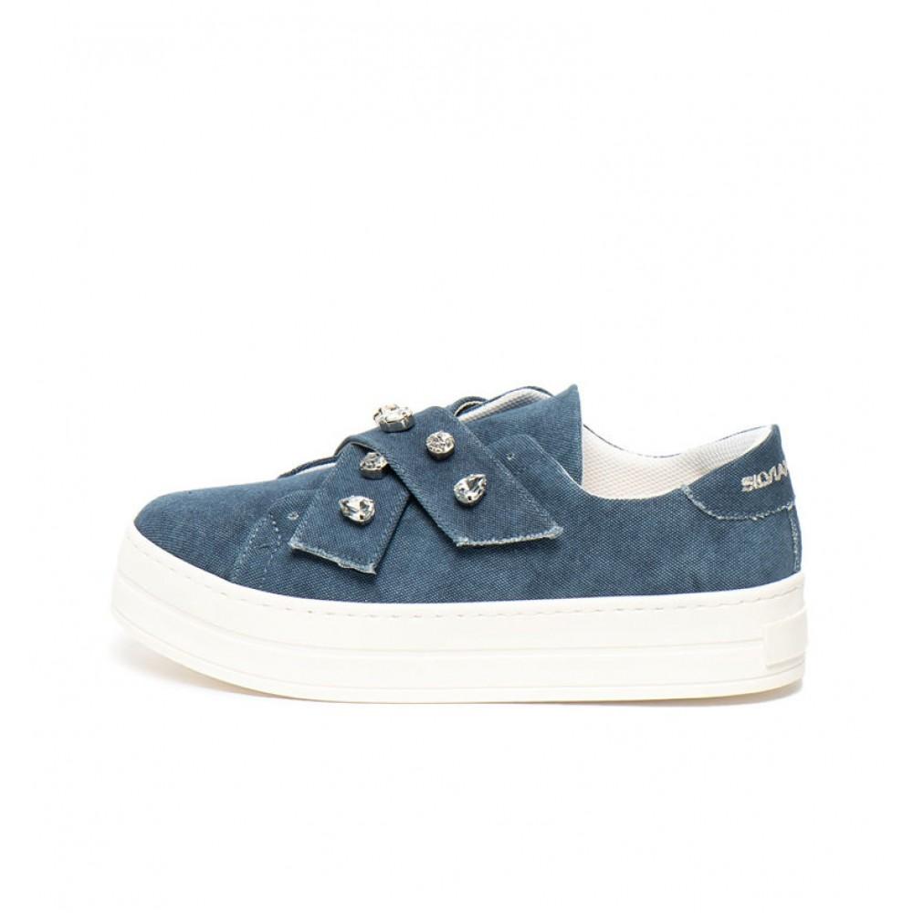 Silvian Heach Women's shoes RCP19082CZ dark blue