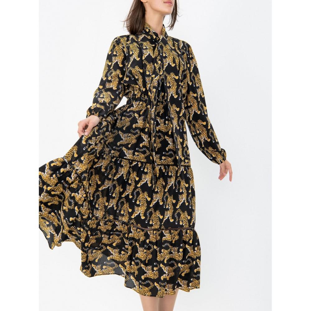 "Silvian Heach women's dress ""attares"" pga19711ve fantasy unique color"
