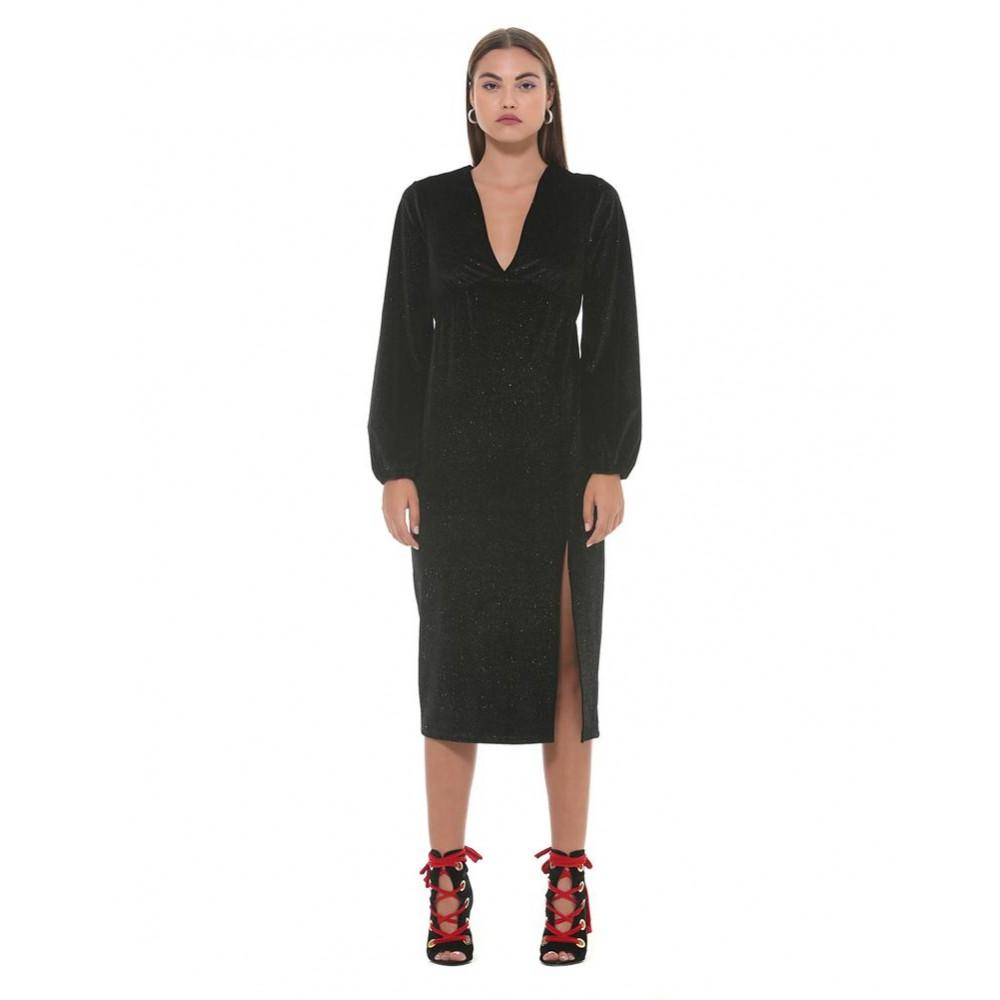 "Silvian Heach women's dress ""khadra"" SHA19233VE black color"