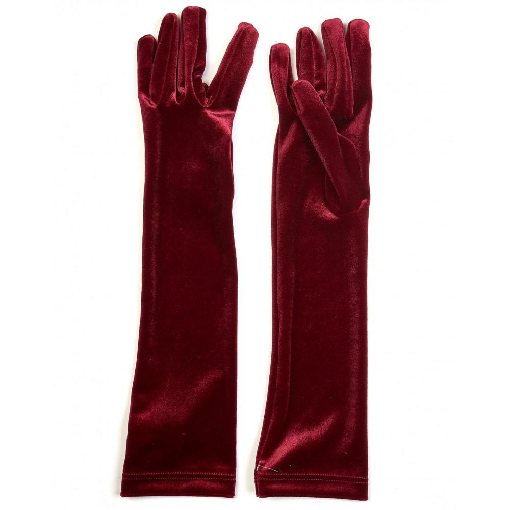 Silvian Heach gloves RCA19121GU dark boardeaux