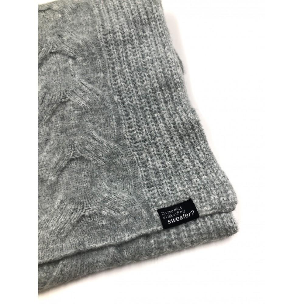 Silvian Heach scarf AHA19011SC gray