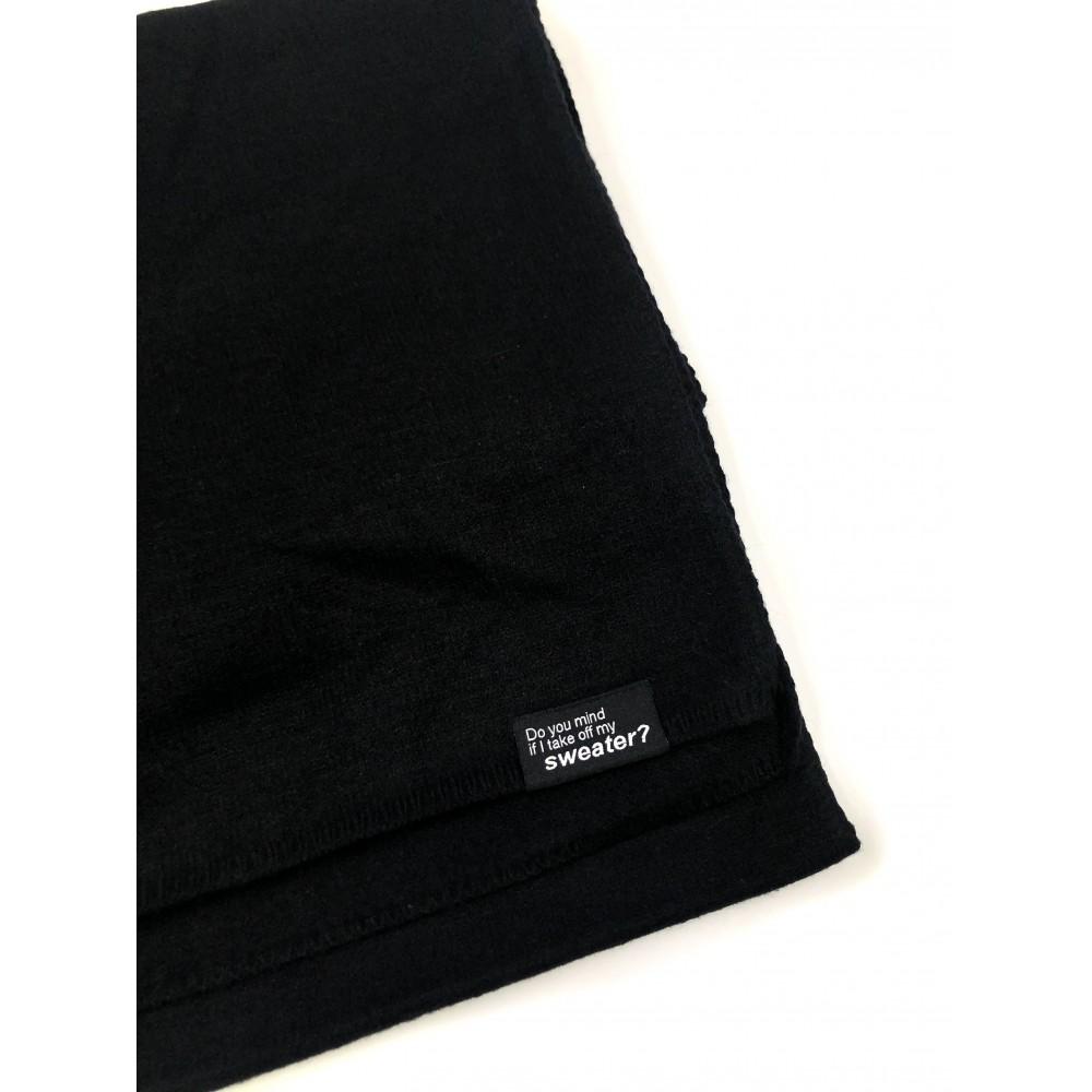 Silvian Heach scarf AHA19012SC black