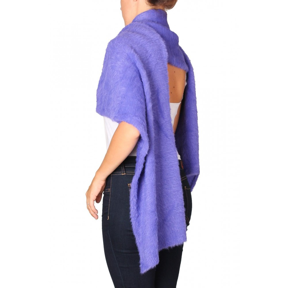 Silvian Heach scarf AHA19013SC violet liberty