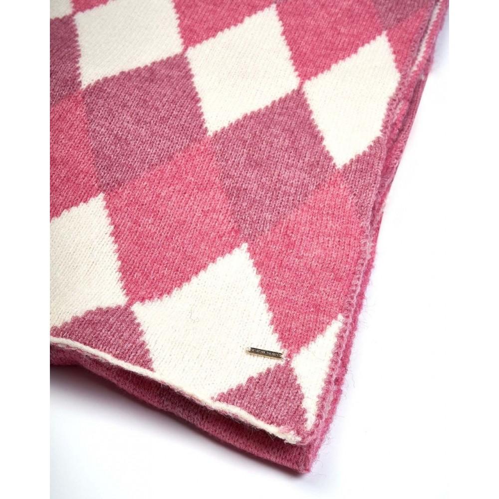 Silvian Heach scarf RCA19112SC pink / white