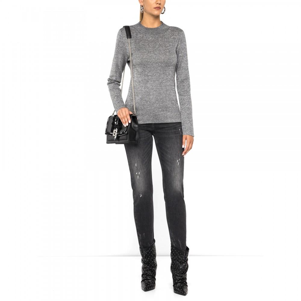 Silvian Heach women's sweater CVA19176MA SILVER COLOR