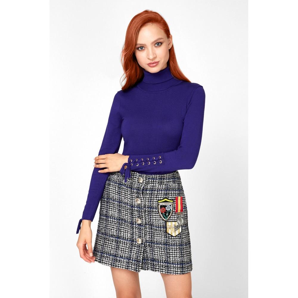 Silvian Heach women's sweater PGA19026LU VIOLET COLOR