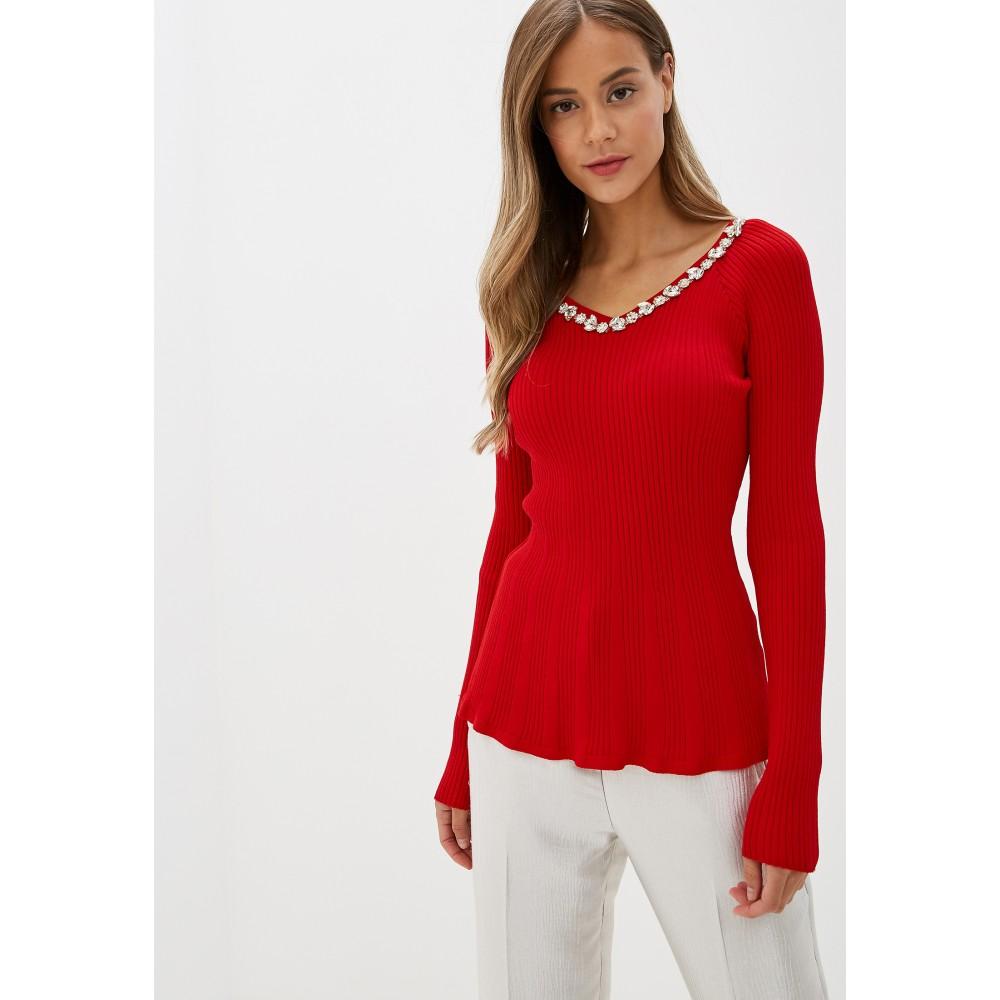 Silvian Heach women's sweater PGA19140MA RED COLOR