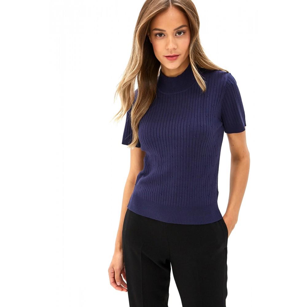 Silvian Heach women's sweater PGA19249MA NAVY BLUE COLOR