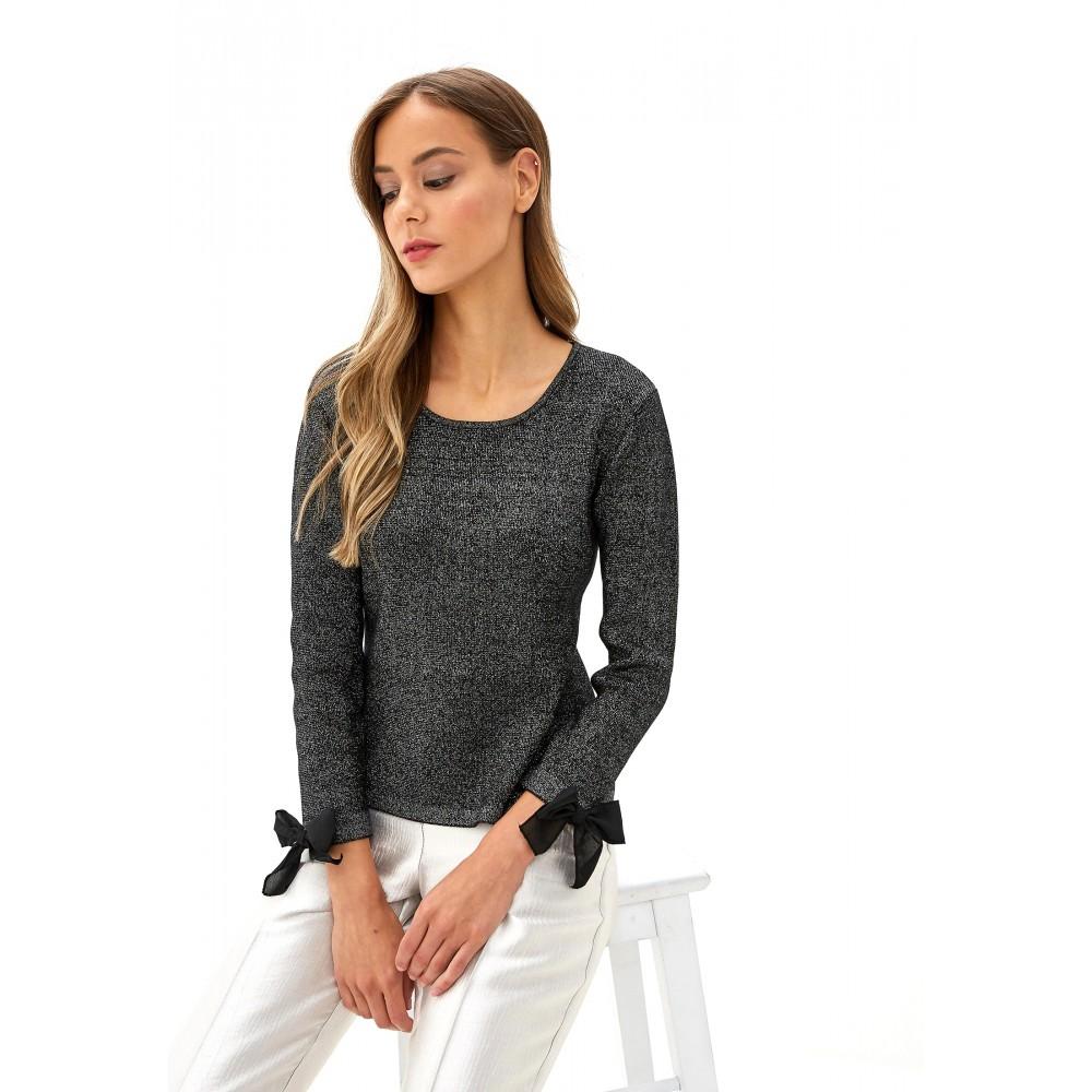 Silvian Heach women's sweater PGA19514MA BLACK COLOR