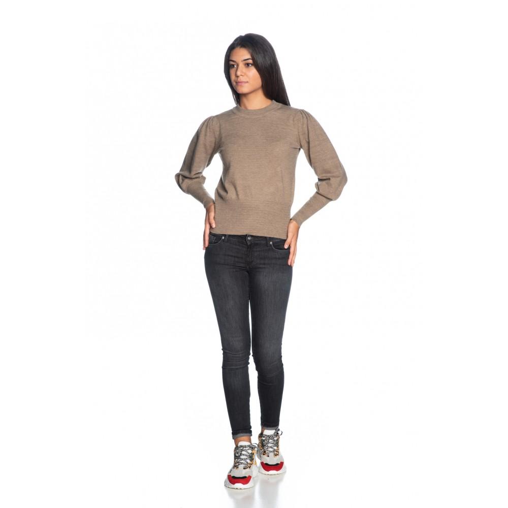 Silvian Heach women's sweater PGA19581MA CHAMPAGNE COLOR