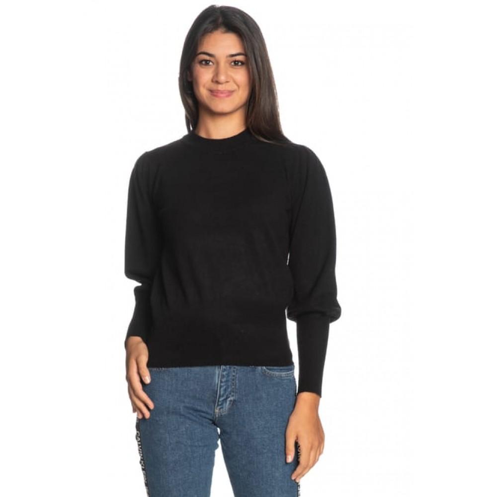 Silvian Heach women's sweater PGA19581MA BLACK COLOR