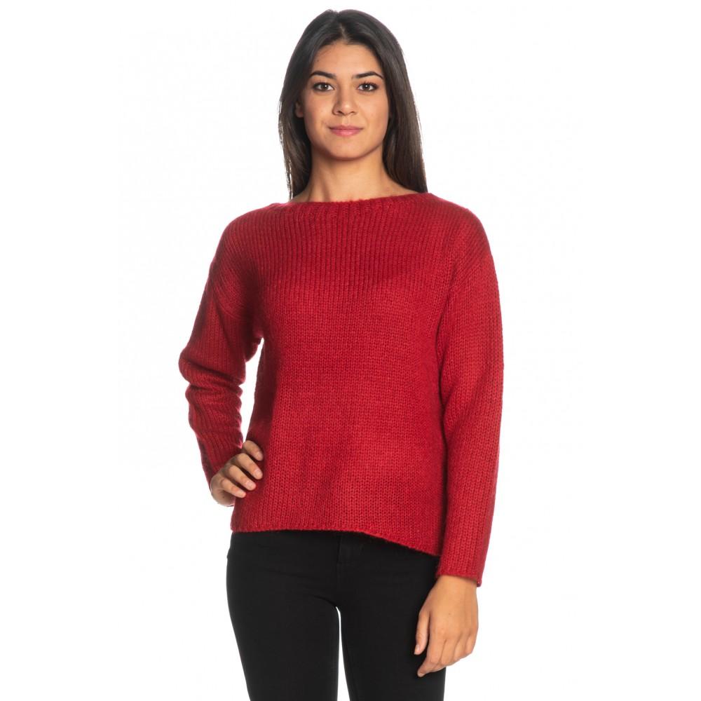 Silvian Heach women's sweater PGA19582MA RED COLOR