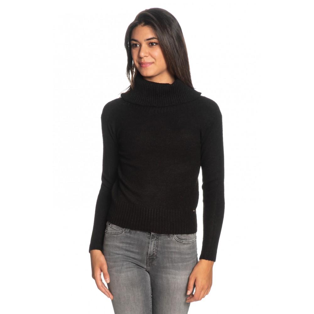 Silvian Heach women's sweater PGA19592LU BLACK COLOR