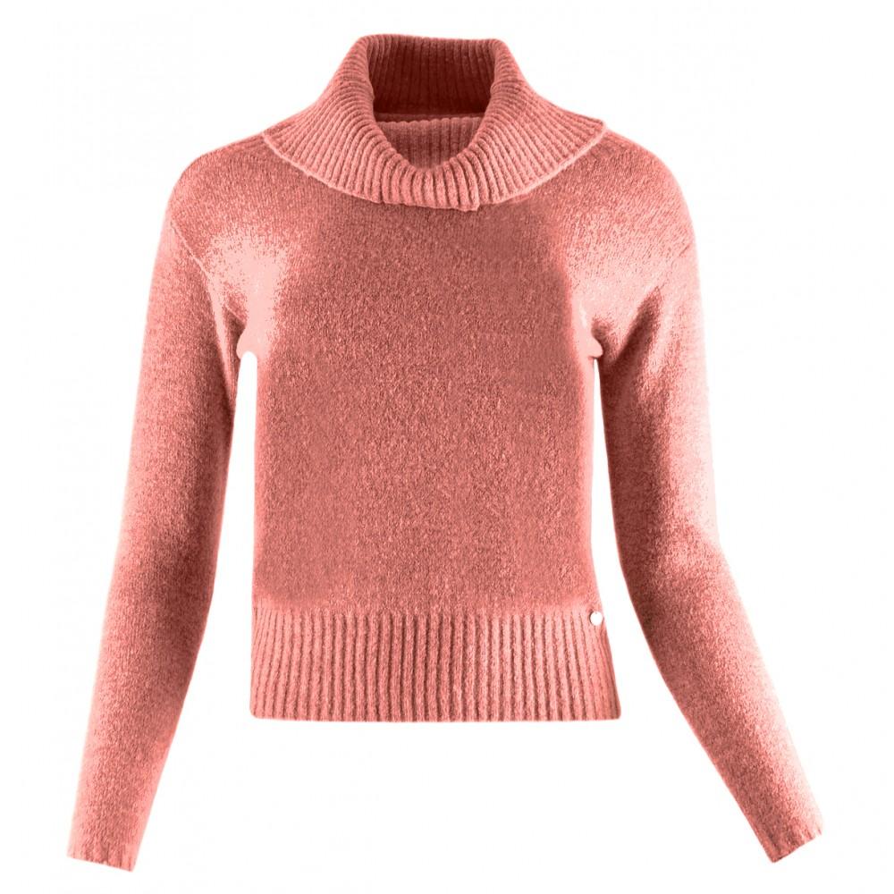 Silvian Heach women's sweater PGA19592LU DARK SALMON COLOR