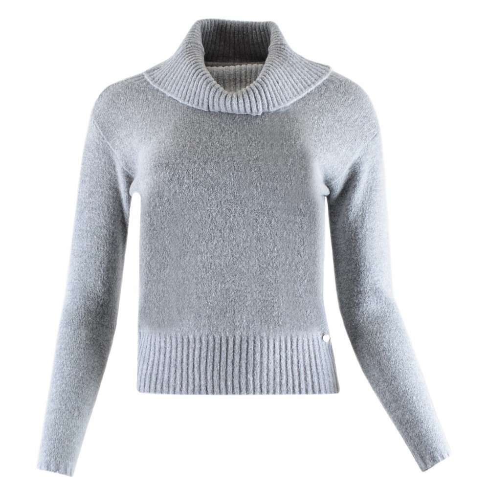 Silvian Heach women's sweater PGA19592LU LIGHT GREY