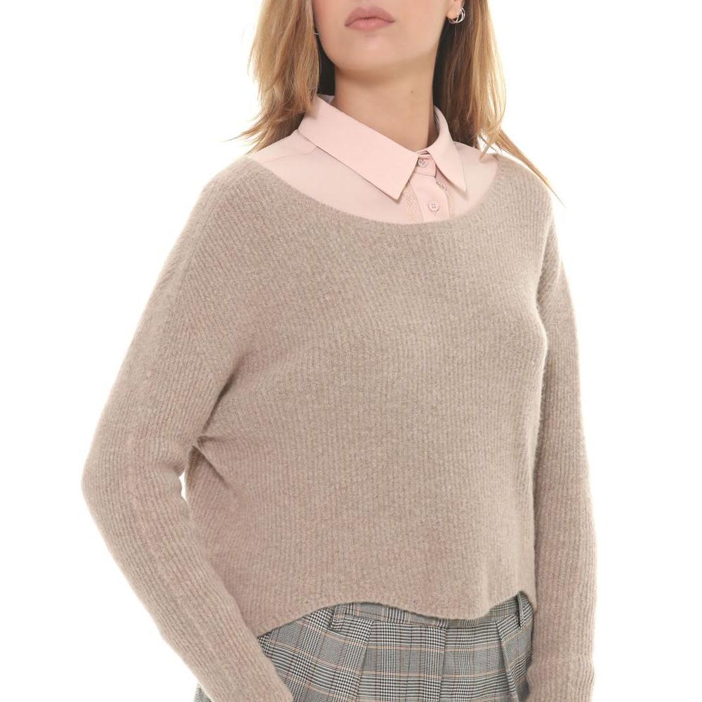 Silvian Heach women's sweater PGA19604MA Light brown