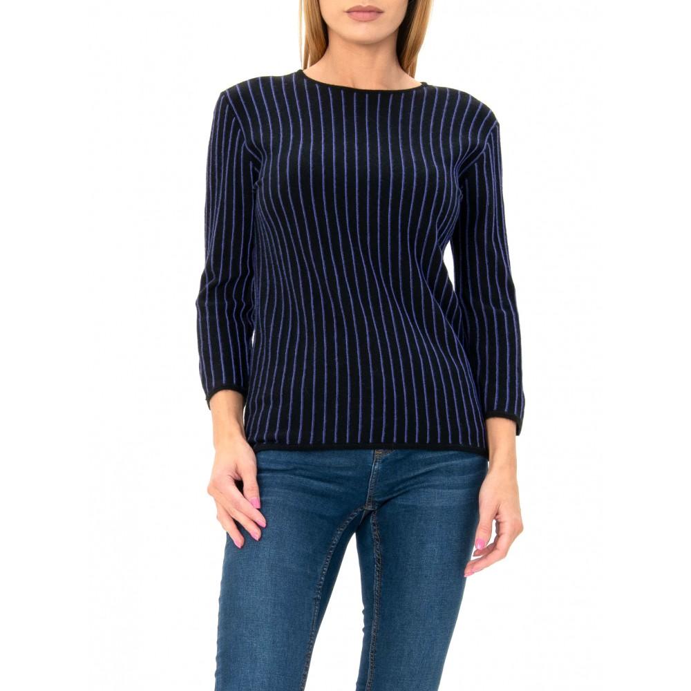 Silvian Heach women's sweater SHA19310MA BLACK COLOR