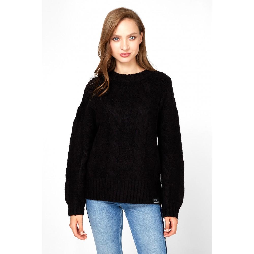 Silvian Heach women's sweater SHA19311MA BLACK