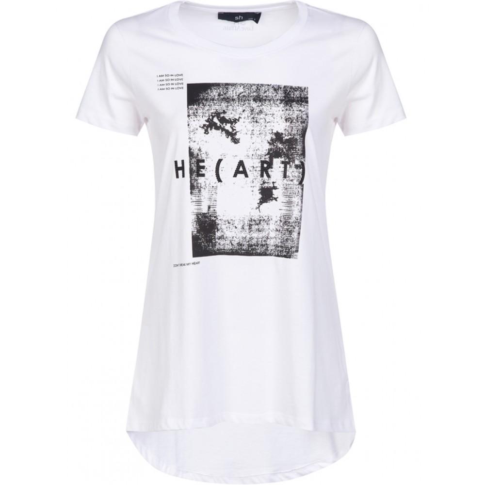Silvian Heach women's t-shirt SHA19395TS white