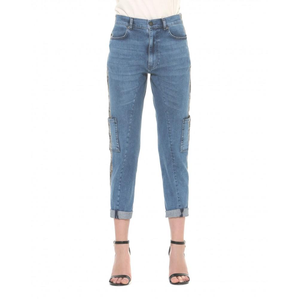 Silvian Heach women's trousers PGA19088JE blue