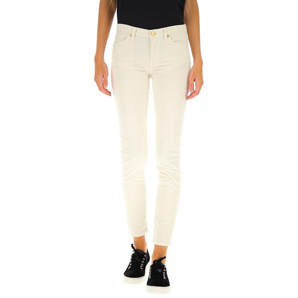 Silvian Heach women's trousers PGA19648JE milk white