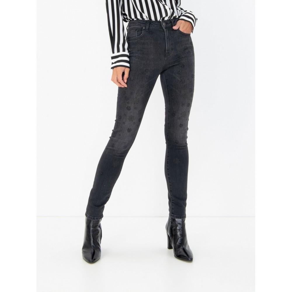 Silvian Heach women's trousers PGA19649JE black