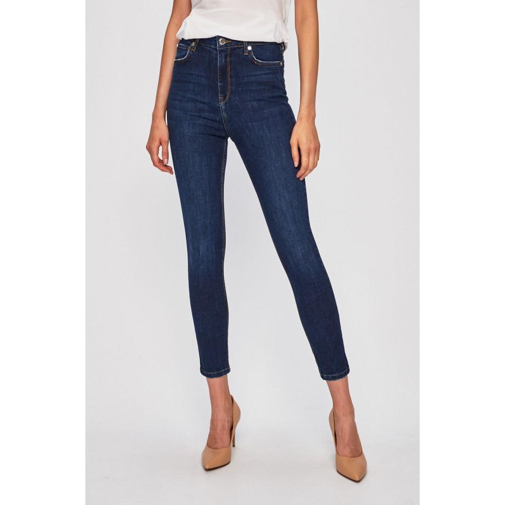 Silvian Heach women's trousers PGA19654JE blue dark