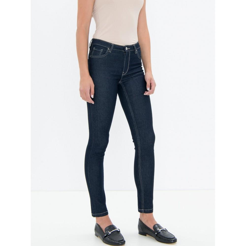 Silvian Heach women's trousers SHA19021JE blue dark