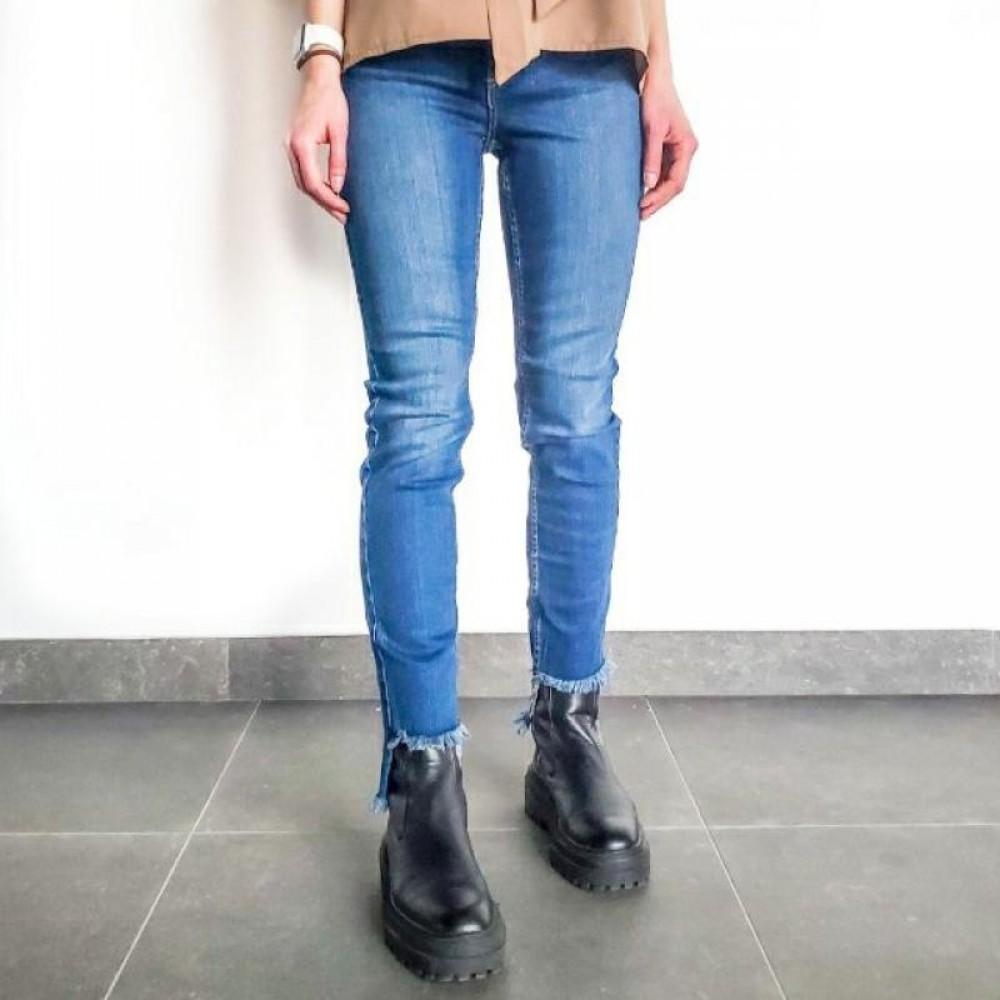 Silvian Heach women's trousers SHA19025JE blue