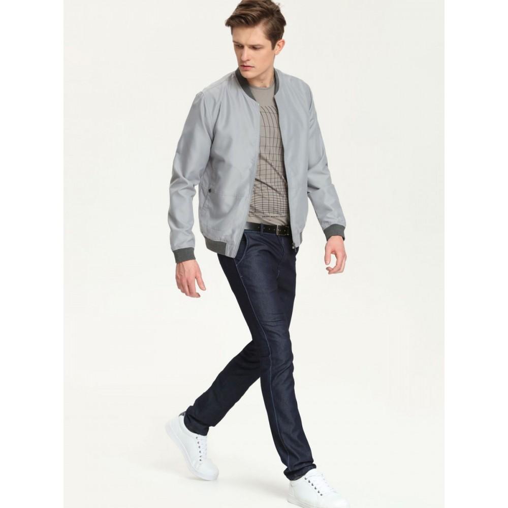 Top Secret men's jacket light gray color
