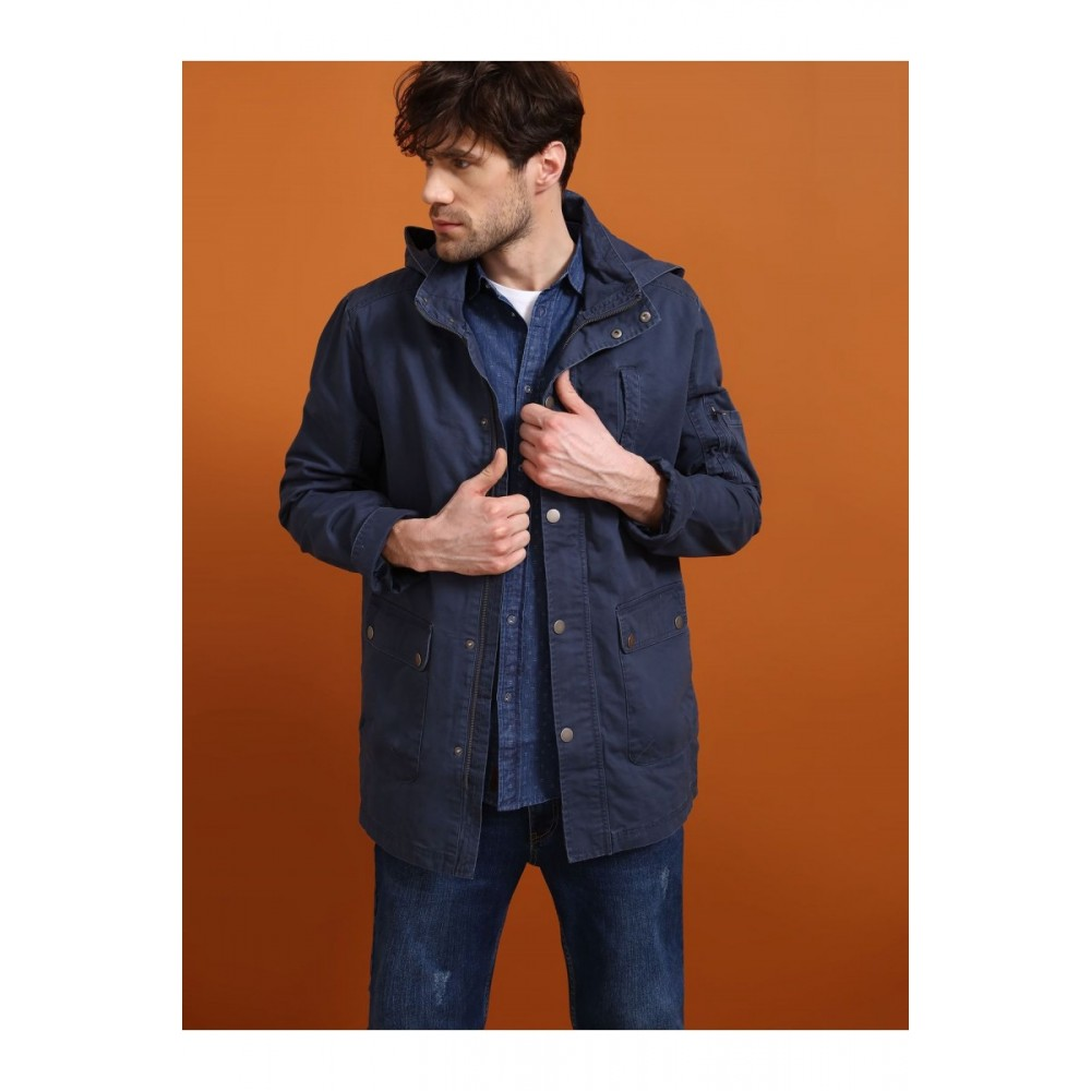 Top Secret Men's Jacket navy blue color