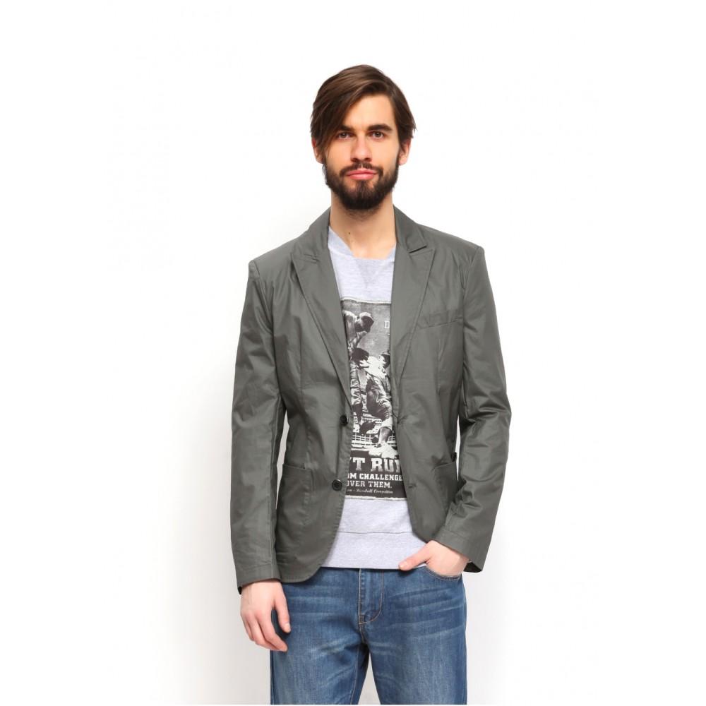 Top Secret men's cotton blazer grey color, impregnated