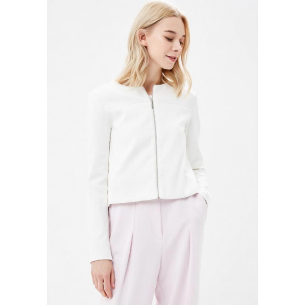 Top secret women's jacket white color