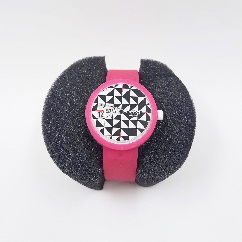 Obag Watch oclock 100 Classic Fuxia color
