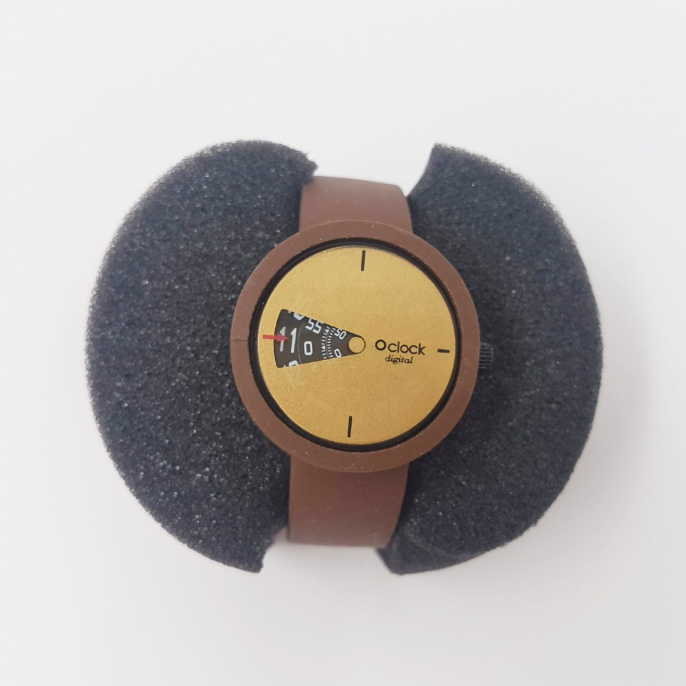 Obag Watch oclock 105 Classic Brown color
