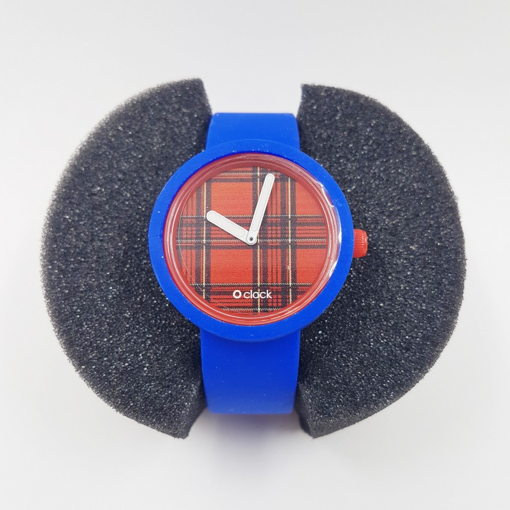 Obag Watch oclock 123 Classic Blue color